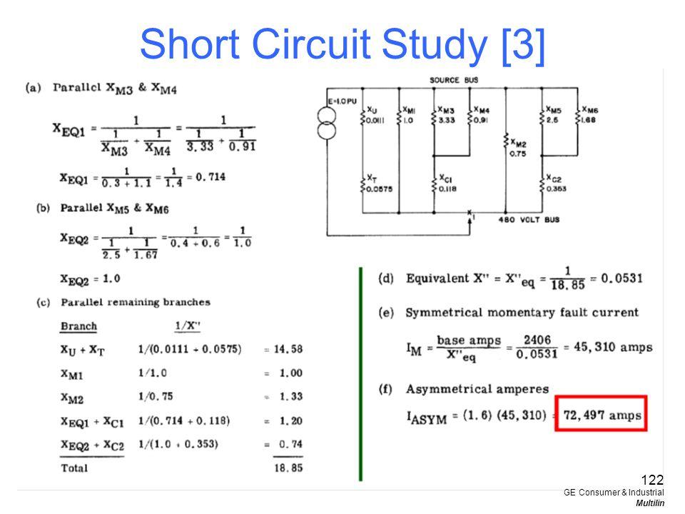 Short Circuit Study [3] 122 GE Consumer & Industrial Multilin
